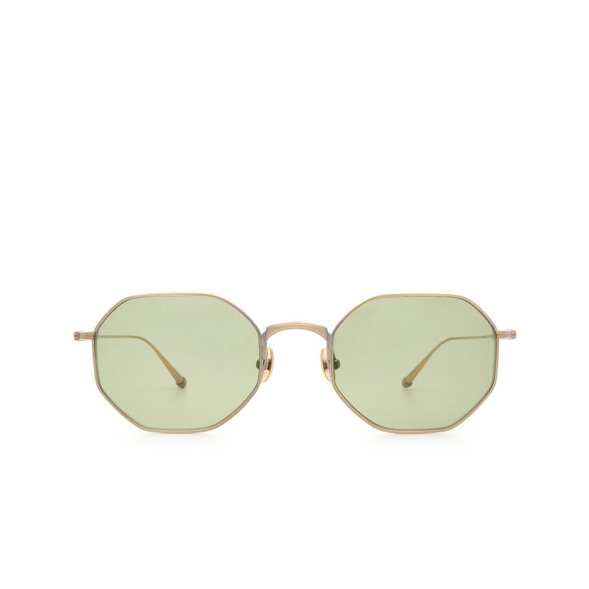Matsuda® Square Sunglasses: M3086 color Antique Gold Ag.