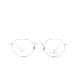 Matsuda® Eyeglasses: M3086 OPT color Brushed Silver Bs.