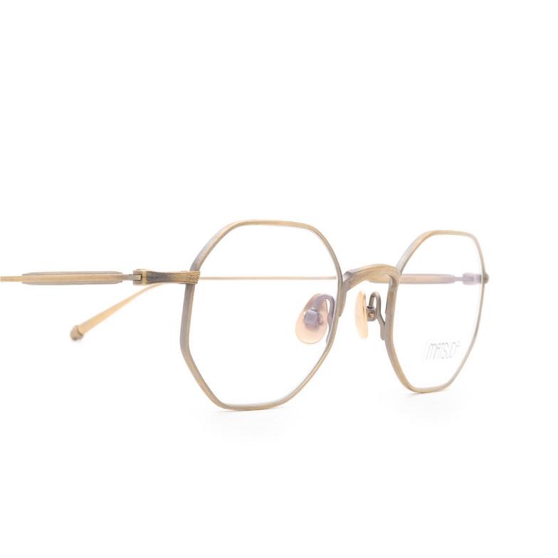 Matsuda® Square Eyeglasses: M3086 OPT color Antique Gold Ag.