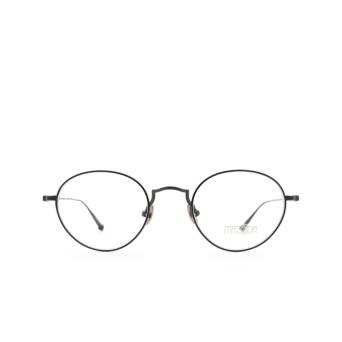 Matsuda® Round Eyeglasses: M3103 color Matte Black Mbk.