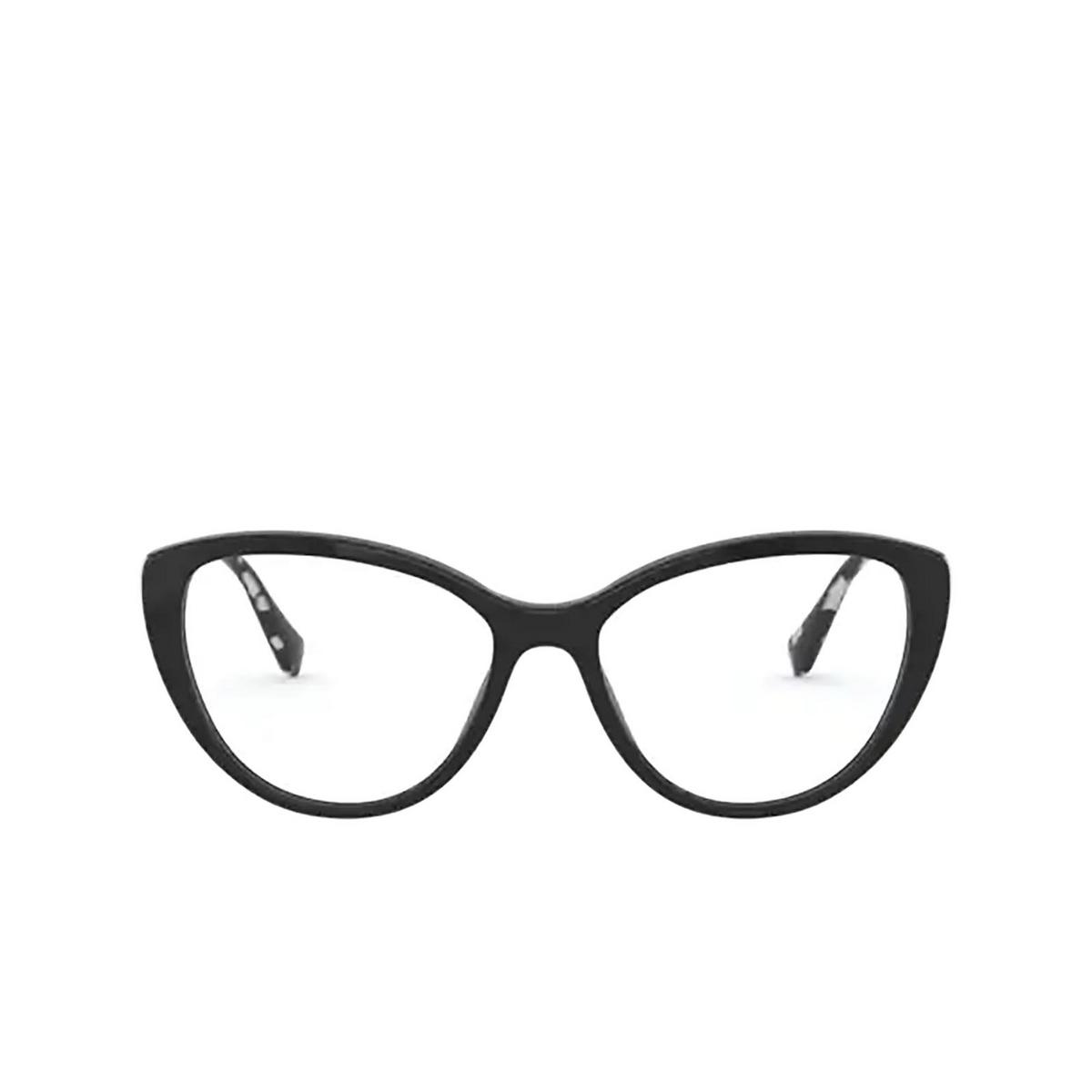 Miu Miu® Cat-eye Eyeglasses: MU 02SV color 1AB1O1 - front view.