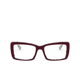 Miu Miu® Eyeglasses: MU 03SV color Beige Havana Top Bordeaux 03E1O1.