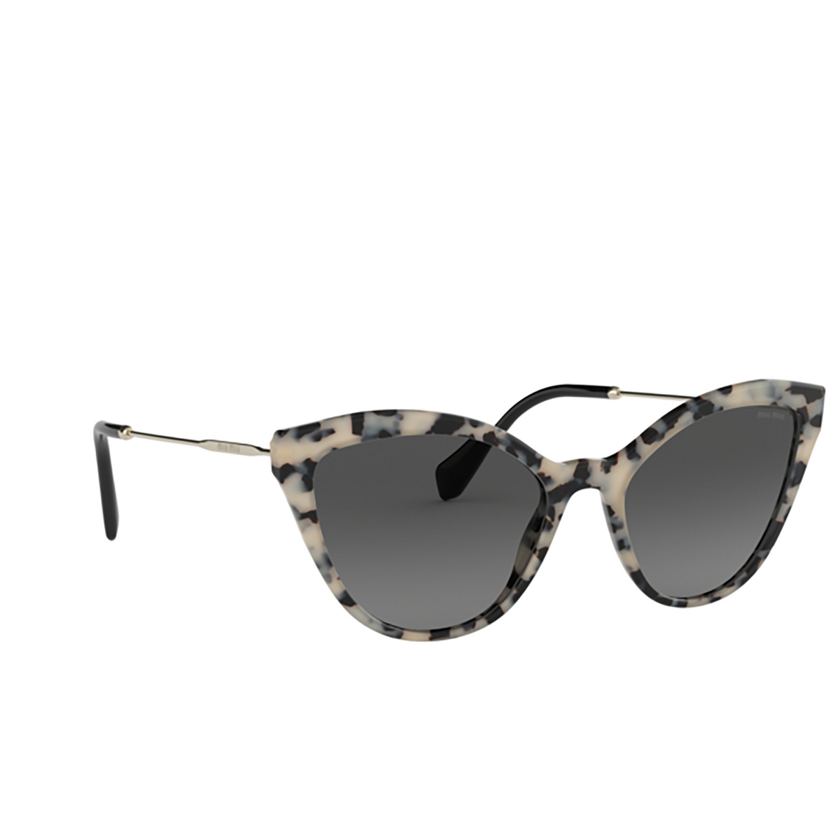 Miu Miu® Cat-eye Sunglasses: MU 03US color Sand Havana Brown KAD3M1.