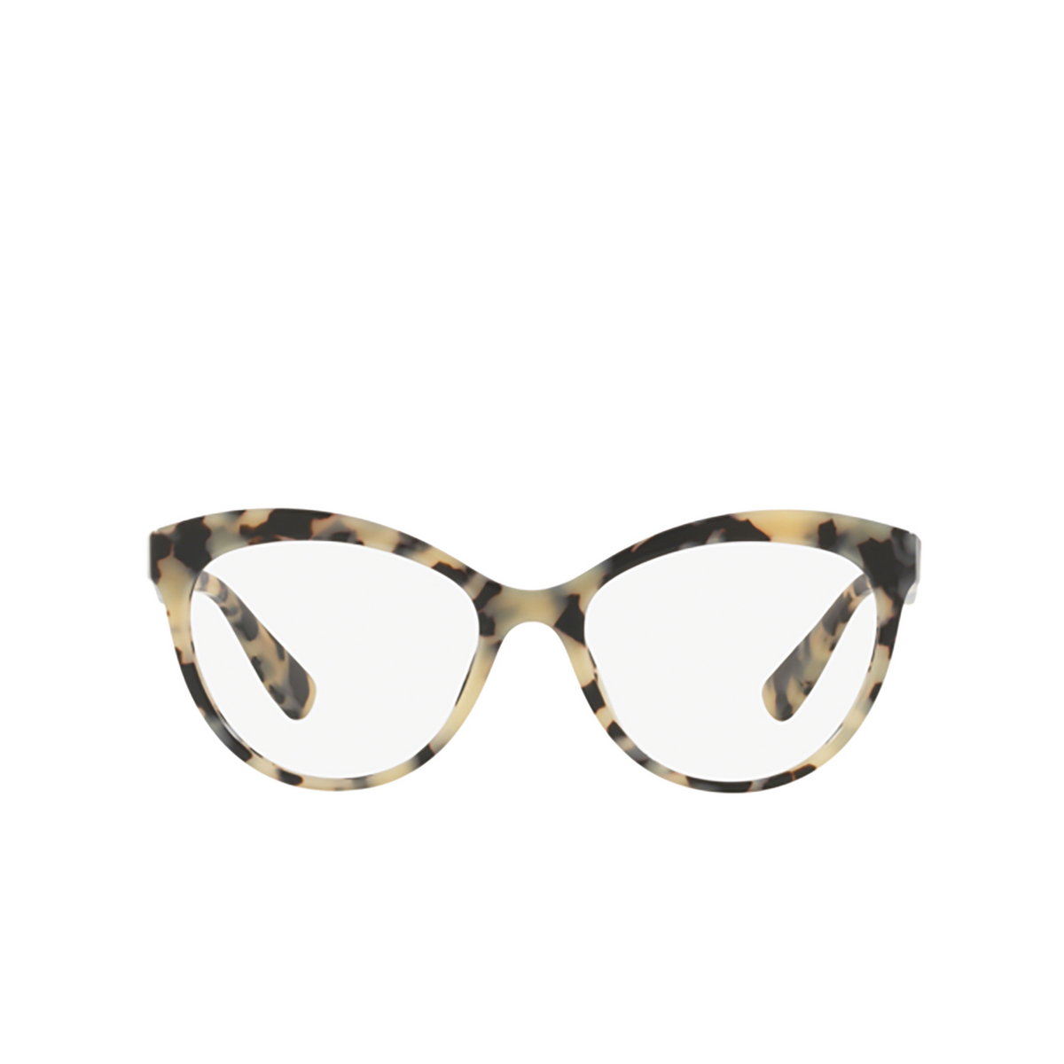 Miu Miu® Butterfly Eyeglasses: MU 04RV color Havana Sand Brown KAD1O1 - front view.