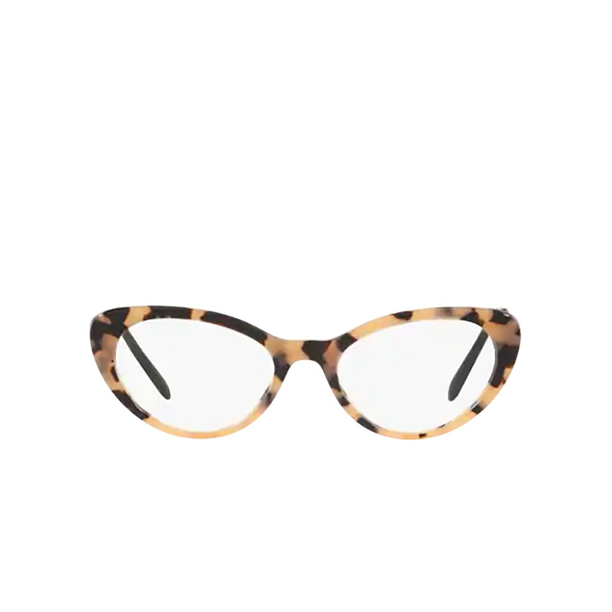Miu Miu® Cat-eye Eyeglasses: MU 05RV color Pink Havana 07D1O1 - front view.