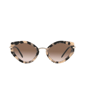 Miu Miu® Butterfly Sunglasses: MU 08XS color Havana Pink 07D0A6.