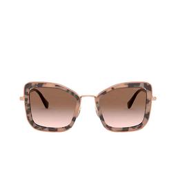 Miu Miu® Sunglasses: MU 55VS color Havana Pink 07D0A6.