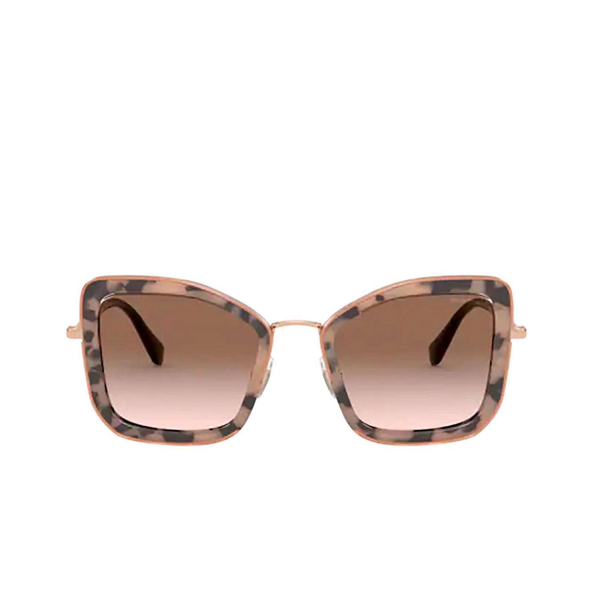 Miu Miu® Butterfly Sunglasses: MU 55VS color Havana Pink 07D0A6.