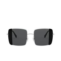 Miu Miu® Sunglasses: MU 56VS color Silver / Black 1AB5S0.