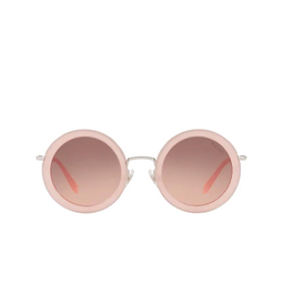 Miu Miu® Sunglasses: MU 59US color Opal Pink 1350A5.