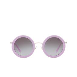 Miu Miu® Sunglasses: MU 59US color Opal Lilac 1363E2.
