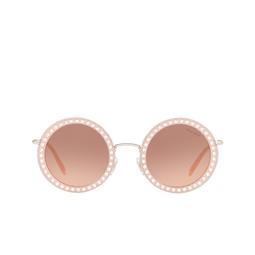 Miu Miu® Sunglasses: MU 59US color Opal Pink 1530A5.