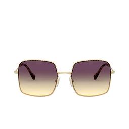 Miu Miu® Sunglasses: MU 61VS color Gold 5AK09B.