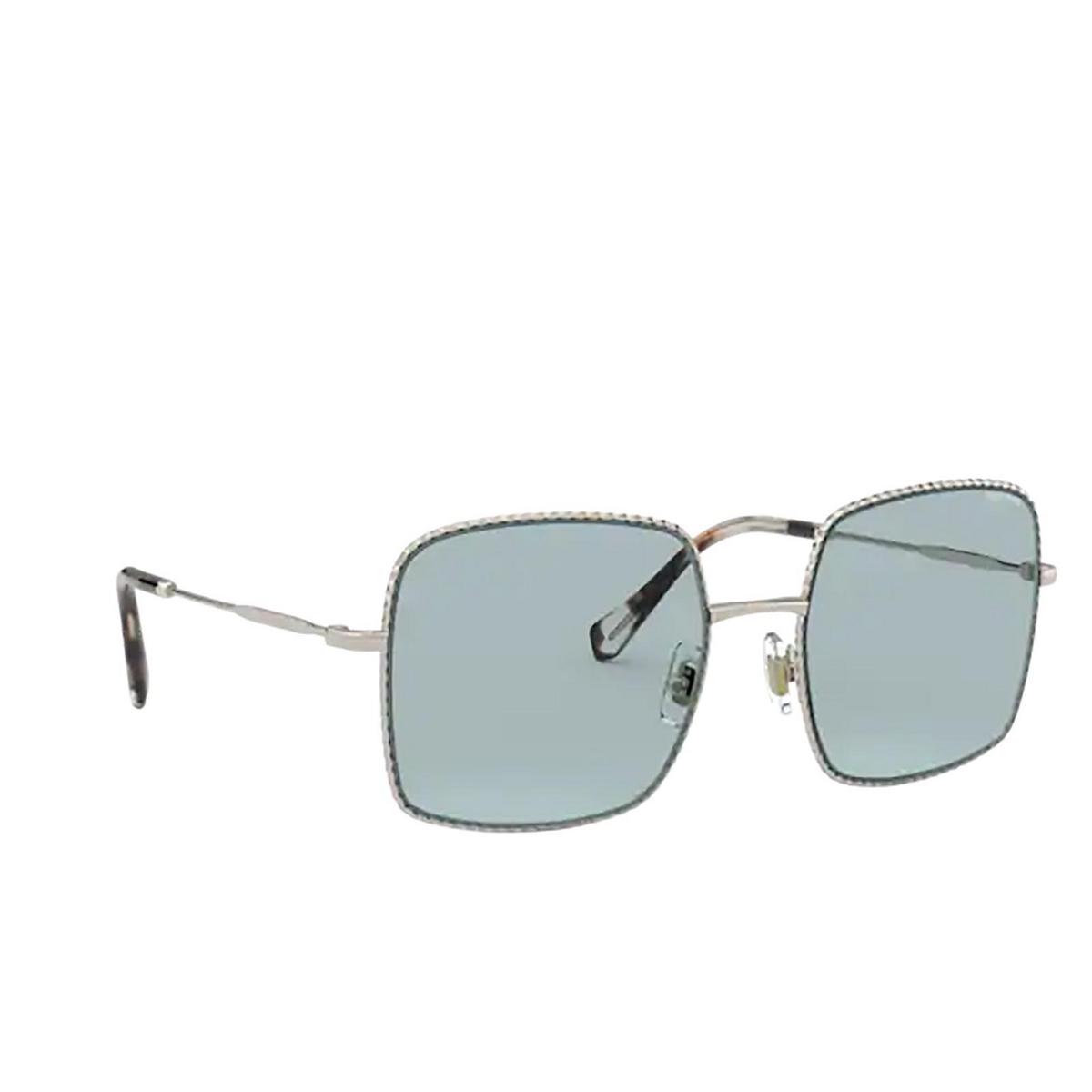 Miu Miu® Square Sunglasses: MU 61VS color Pale Gold ZVN02F.
