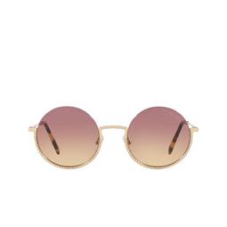 Miu Miu® Sunglasses: MU 69US color Pale Gold ZVN09B.