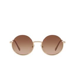 Miu Miu® Sunglasses: MU 69US color Pale Gold ZVN1Z1.