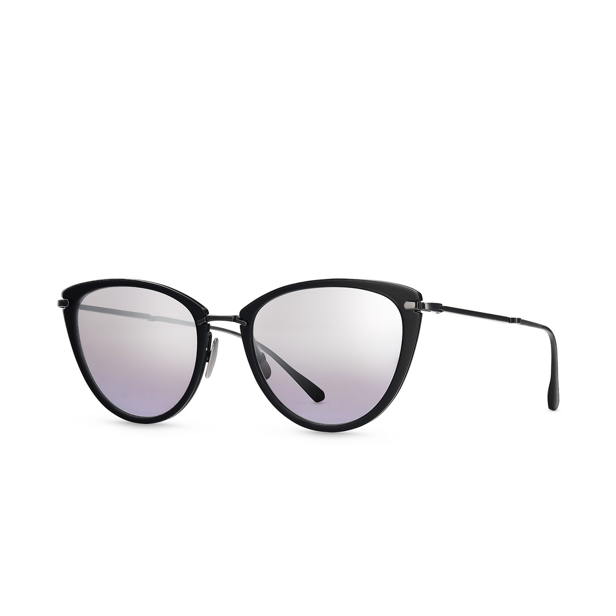 Mr. Leight® Butterfly Sunglasses: Beverly S color Bk-sbk/sf.