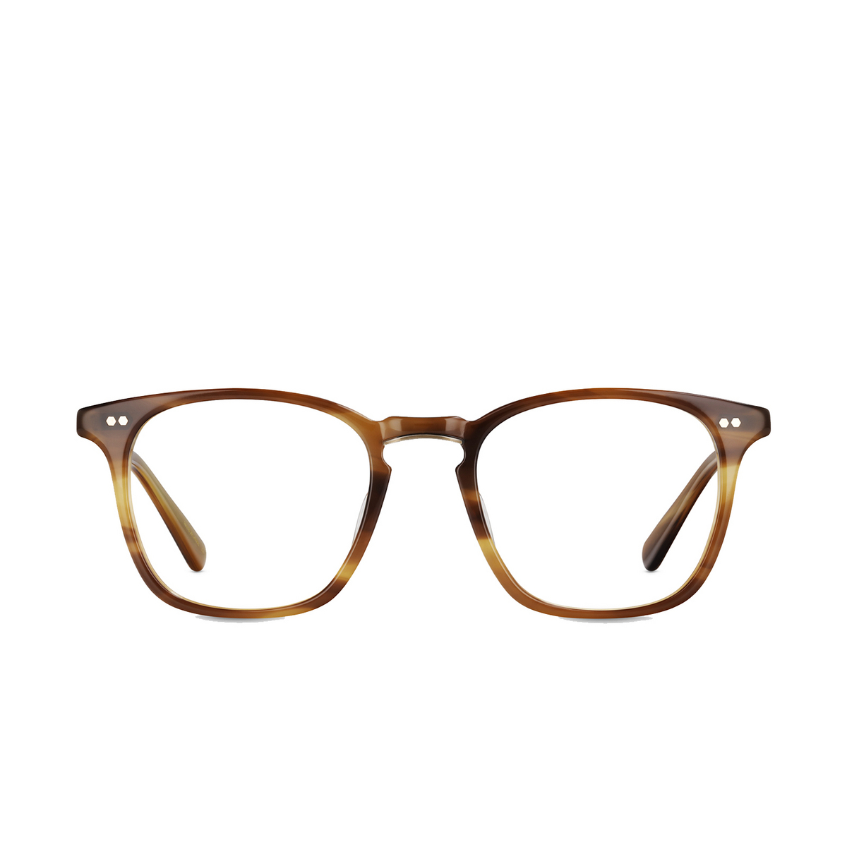 Mr. Leight® Square Eyeglasses: Getty C color Bw-atg - front view.