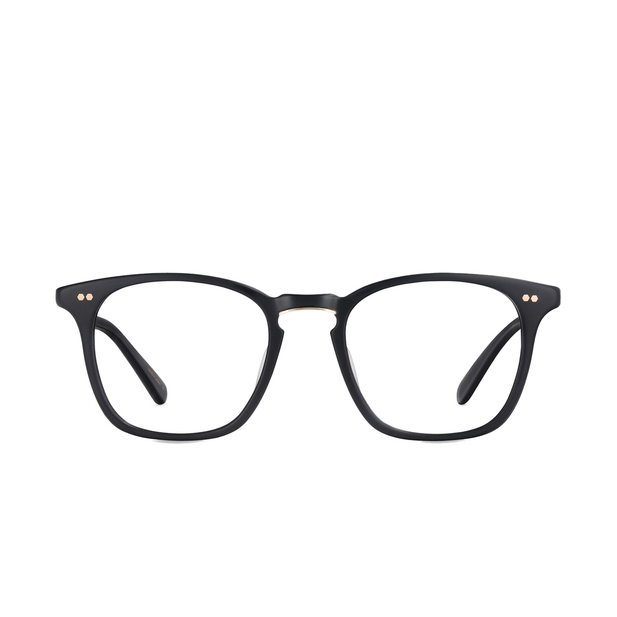 Mr. Leight® Square Eyeglasses: Getty C color MBK-12KWG - front view.