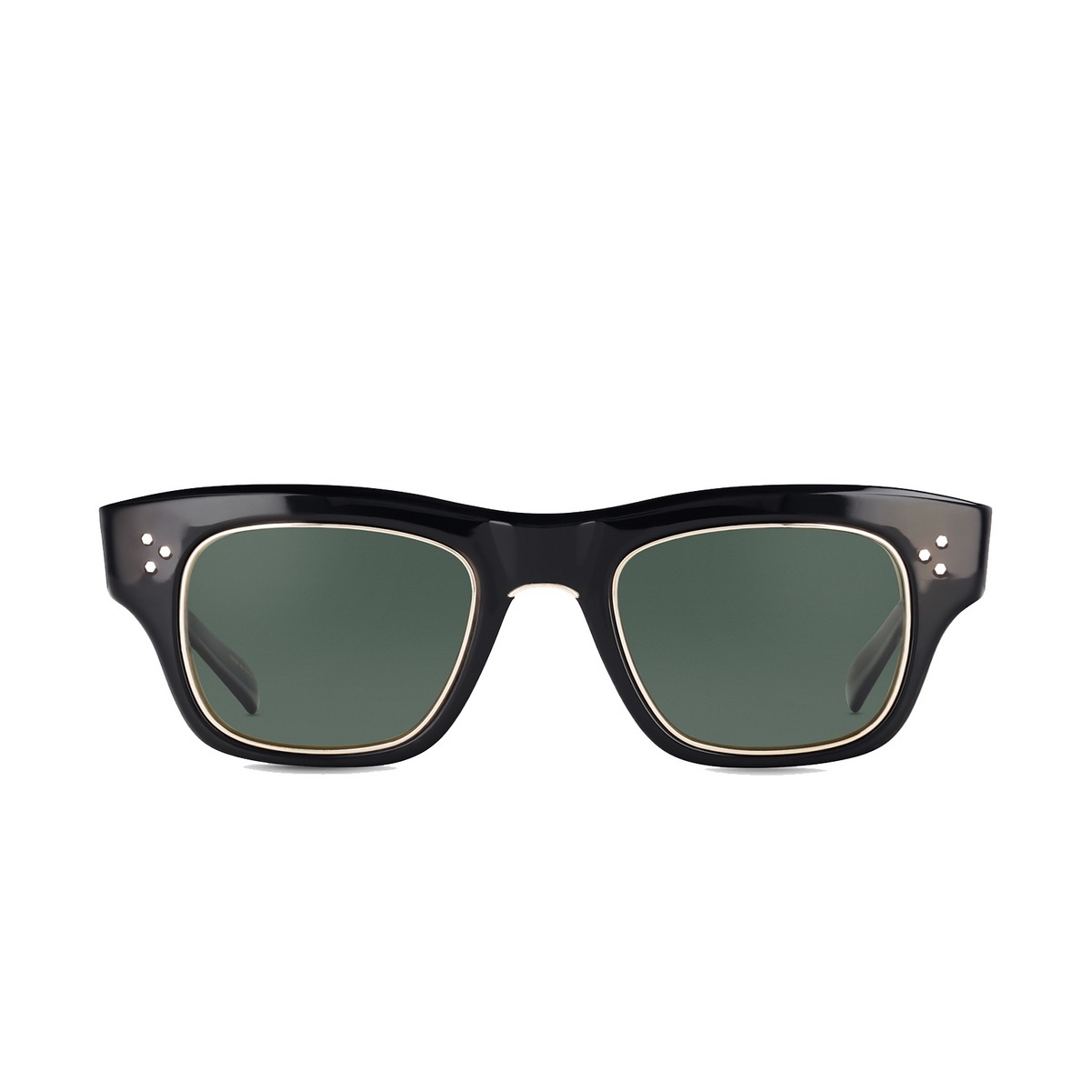Mr. Leight® Square Sunglasses: Go S color BK-12KWG/G15GLSSPLR.