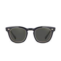 Mr. Leight® Sunglasses: Hanalei S color BKGLSS-12KWG/LA.