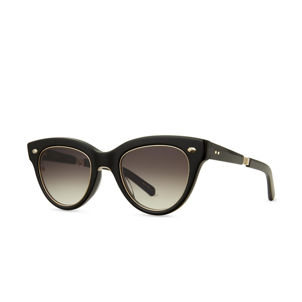 Mr. Leight® Cat-eye Sunglasses: Madison S color BK-12KG/SFBKG.