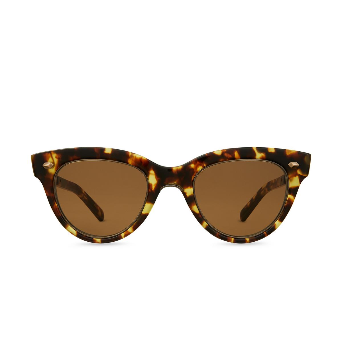 Mr. Leight® Cat-eye Sunglasses: Madison S color Trt-atg/sfbrn.