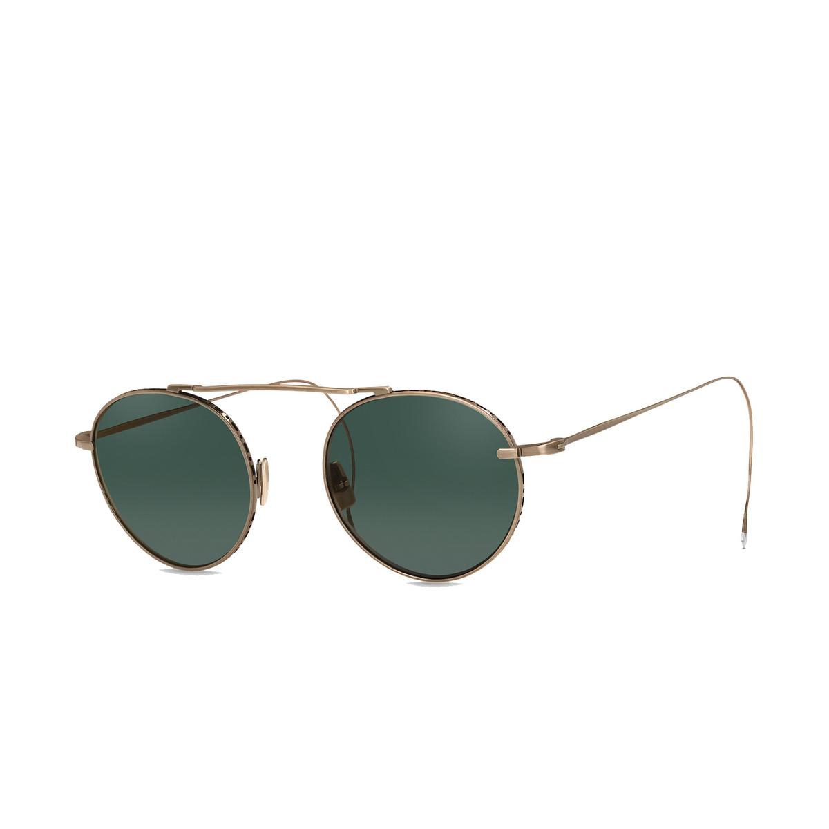 Mr. Leight® Aviator Sunglasses: Rei S color ATG/G15.