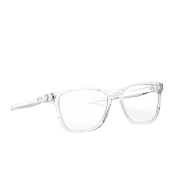 Oakley® Rectangle Eyeglasses: Centerboard OX8163 color Polished Clear 816303.