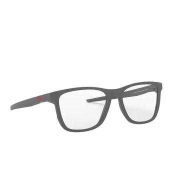 Oakley® Rectangle Eyeglasses: Centerboard OX8163 color Satin Light Steel 816304.