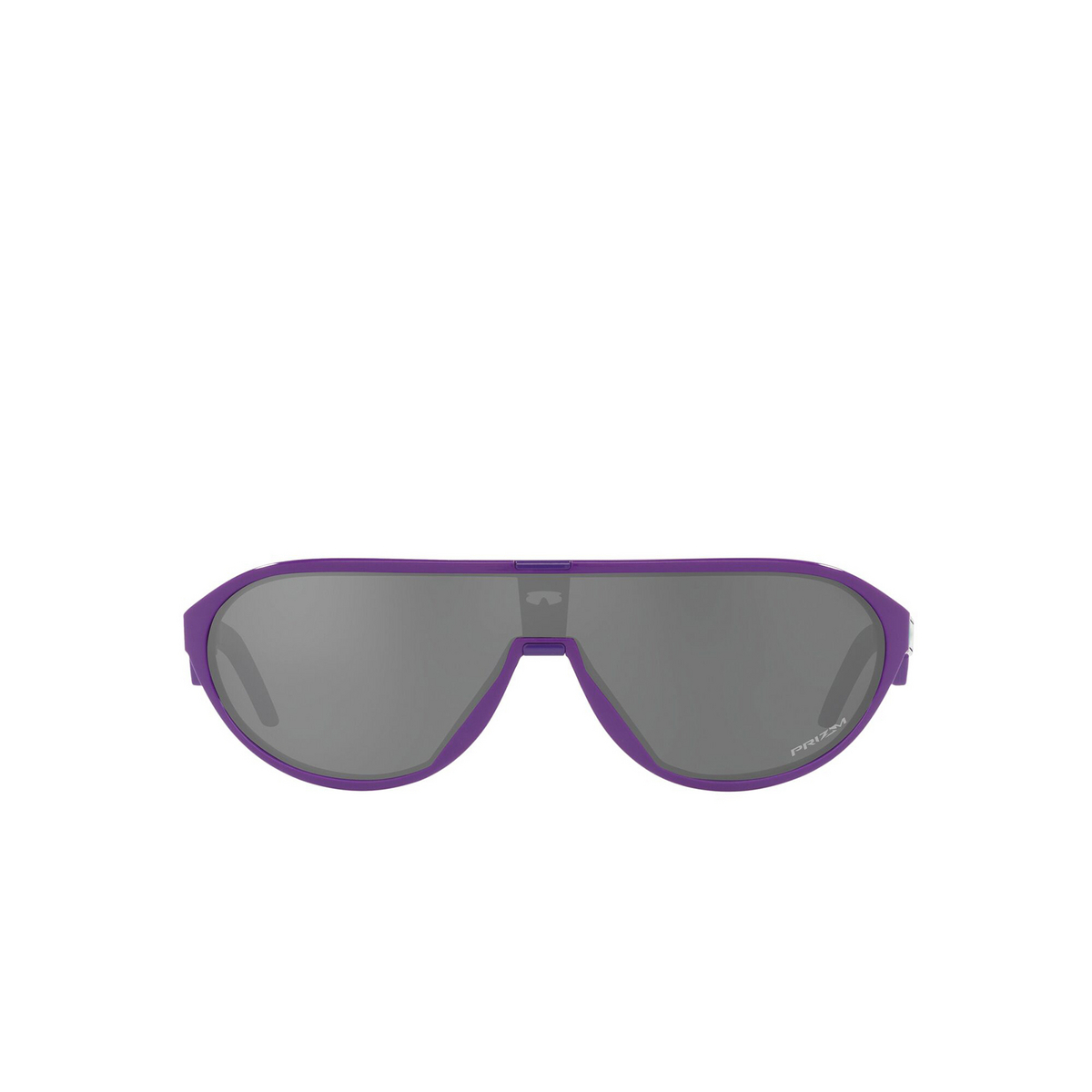 Oakley® Rectangle Sunglasses: Cmdn OO9467 color Electric Purple 946704 - front view.