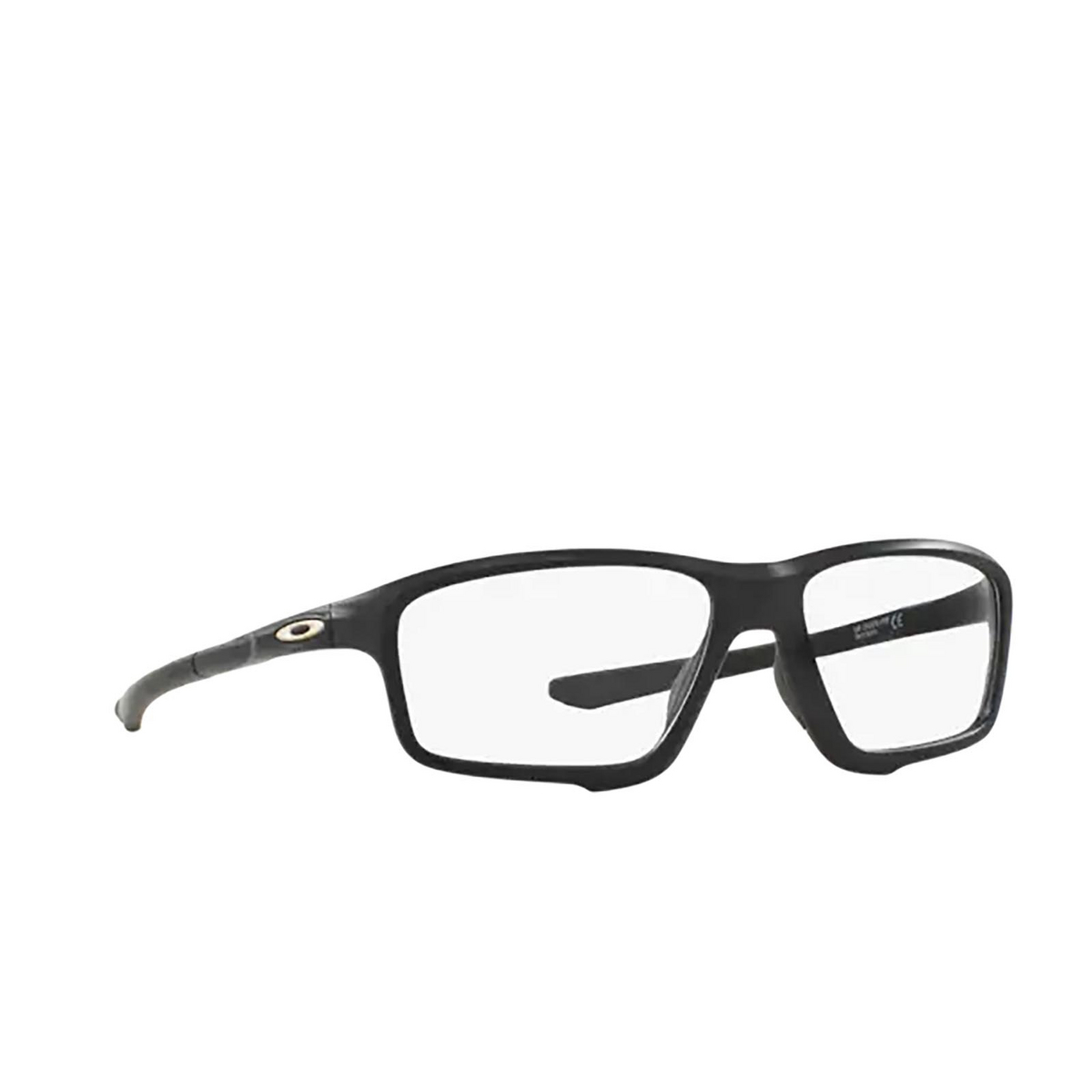 Oakley® Square Eyeglasses: Crosslink Zero OX8076 color Satin Black 807607.