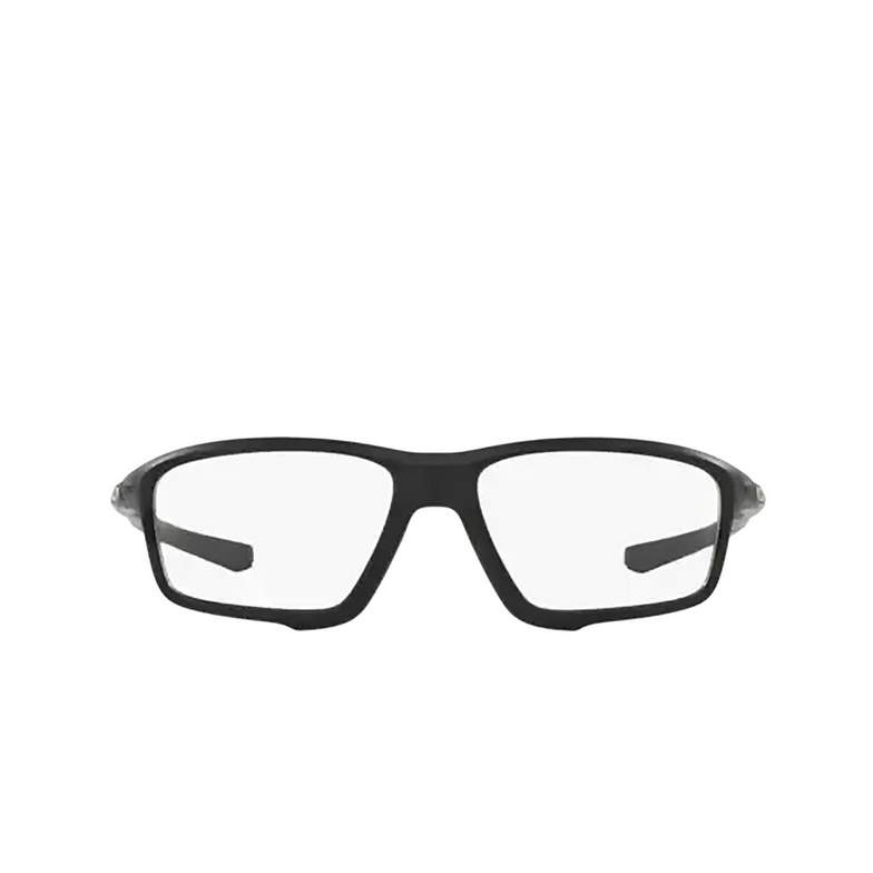 Oakley® Square Eyeglasses: Crosslink Zero OX8076 color Satin Black 807607.