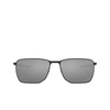 Oakley® Rectangle Sunglasses: Ejector OO4142 color Satin Black 414201 - product thumbnail 1/3.