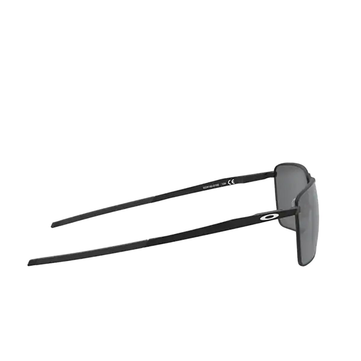 Oakley® Rectangle Sunglasses: Ejector OO4142 color Satin Black 414201 - 3/3.