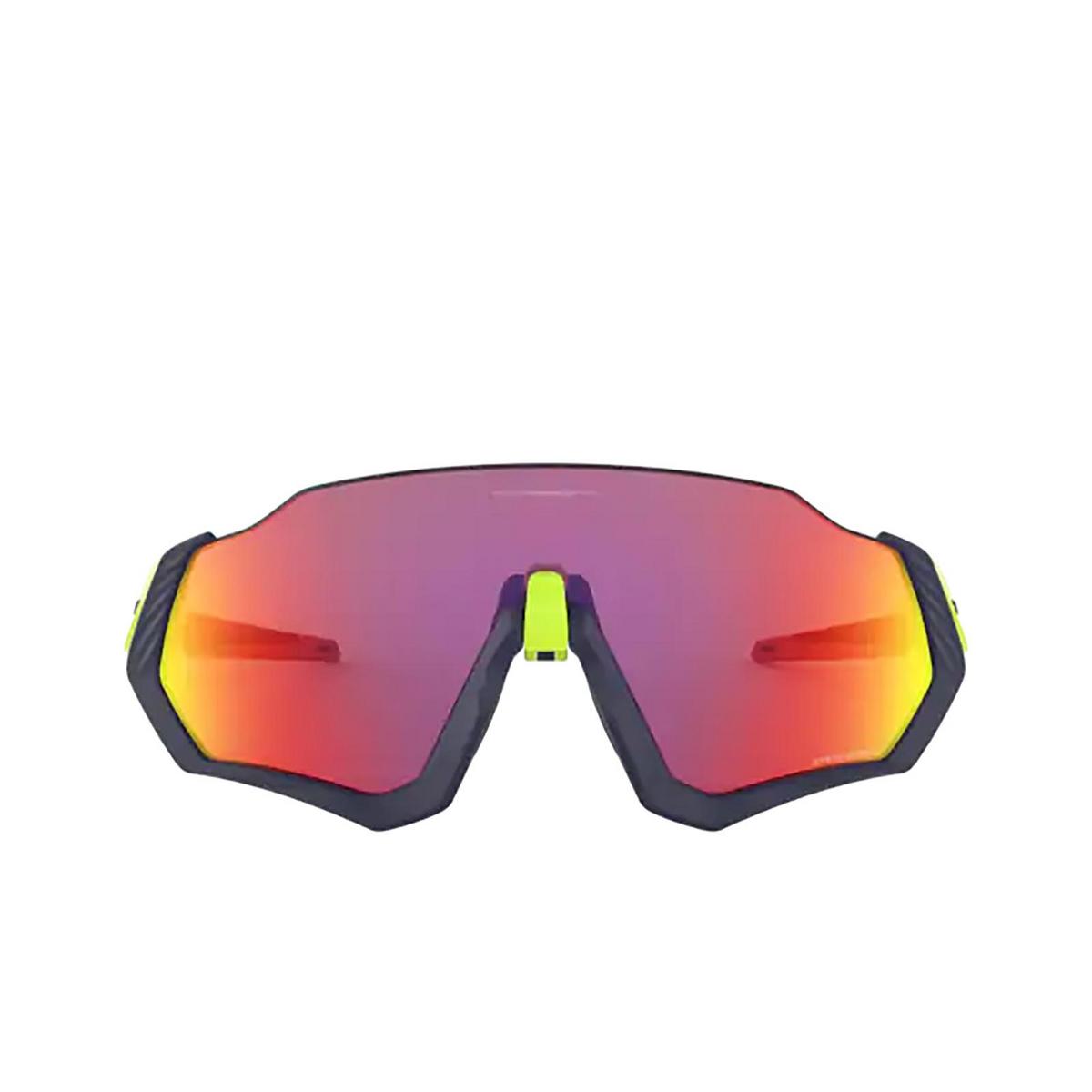 Oakley® Rectangle Sunglasses: Flight Jacket OO9401 color Matte Navy 940105.