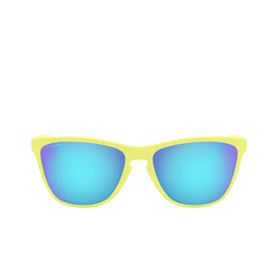 Oakley® Sunglasses: Frogskins 35th OO9444 color Matte Neon Yellow 944403.