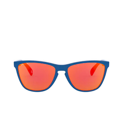 Oakley® Sunglasses: Frogskins 35th OO9444 color Primary Blue 944404.