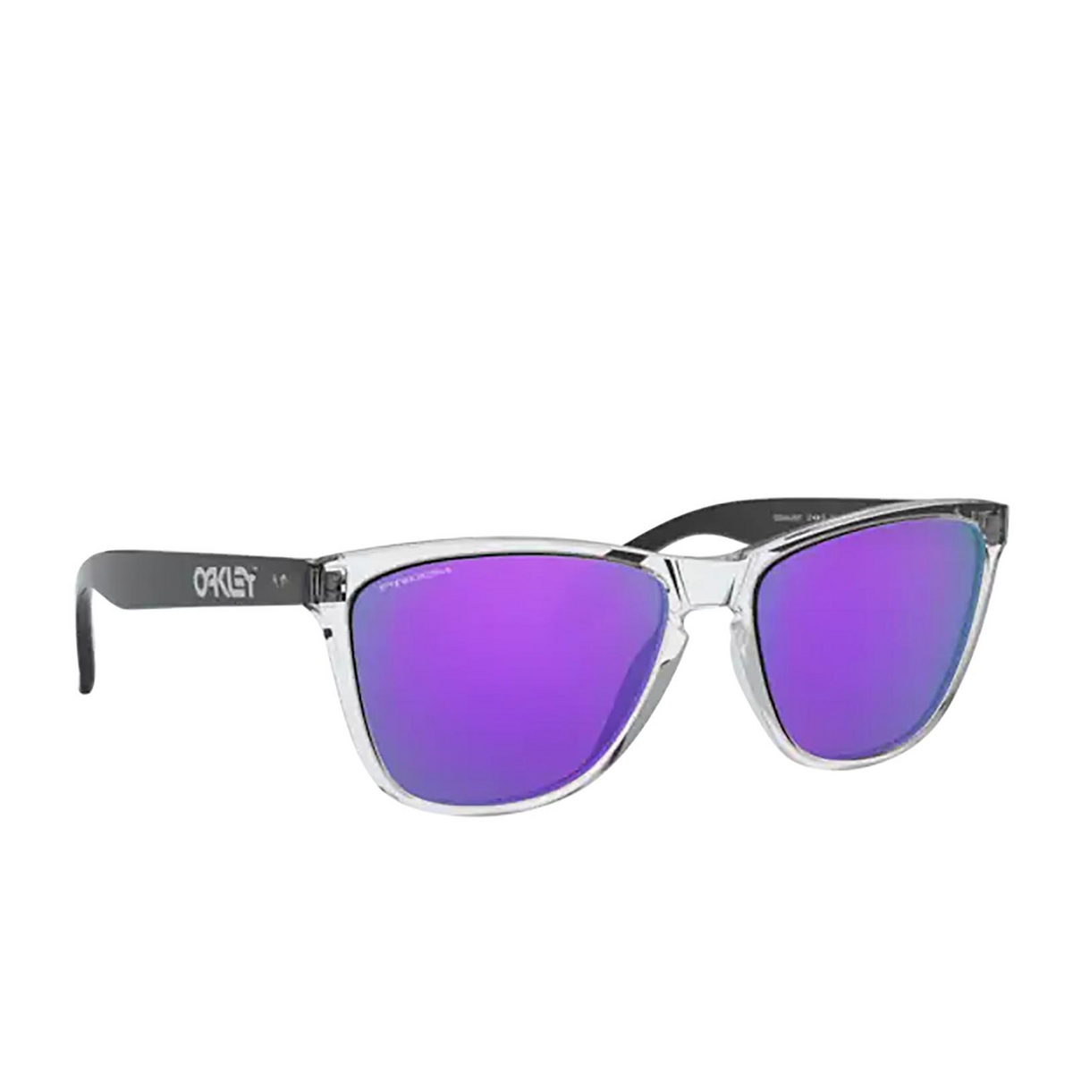 Oakley® Square Sunglasses: Frogskins 35th OO9444 color Polished Clear 944405.
