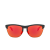 Oakley® Round Sunglasses: Frogskins Lite OO9374 color Matte Black Ink 937427 - product thumbnail 1/3.