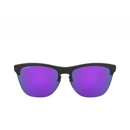 Oakley® Round Sunglasses: Frogskins Lite OO9374 color Matte Black 937431.
