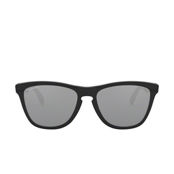 Oakley® Square Sunglasses: Frogskins Mix OO9428 color Polished Black 942802.