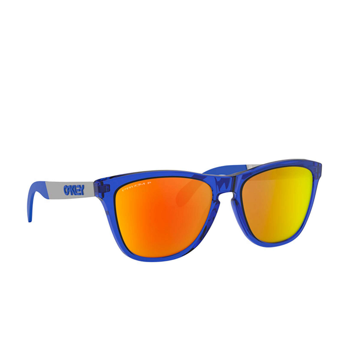 Oakley® Square Sunglasses: Frogskins Mix OO9428 color Crystal Blue 942813.