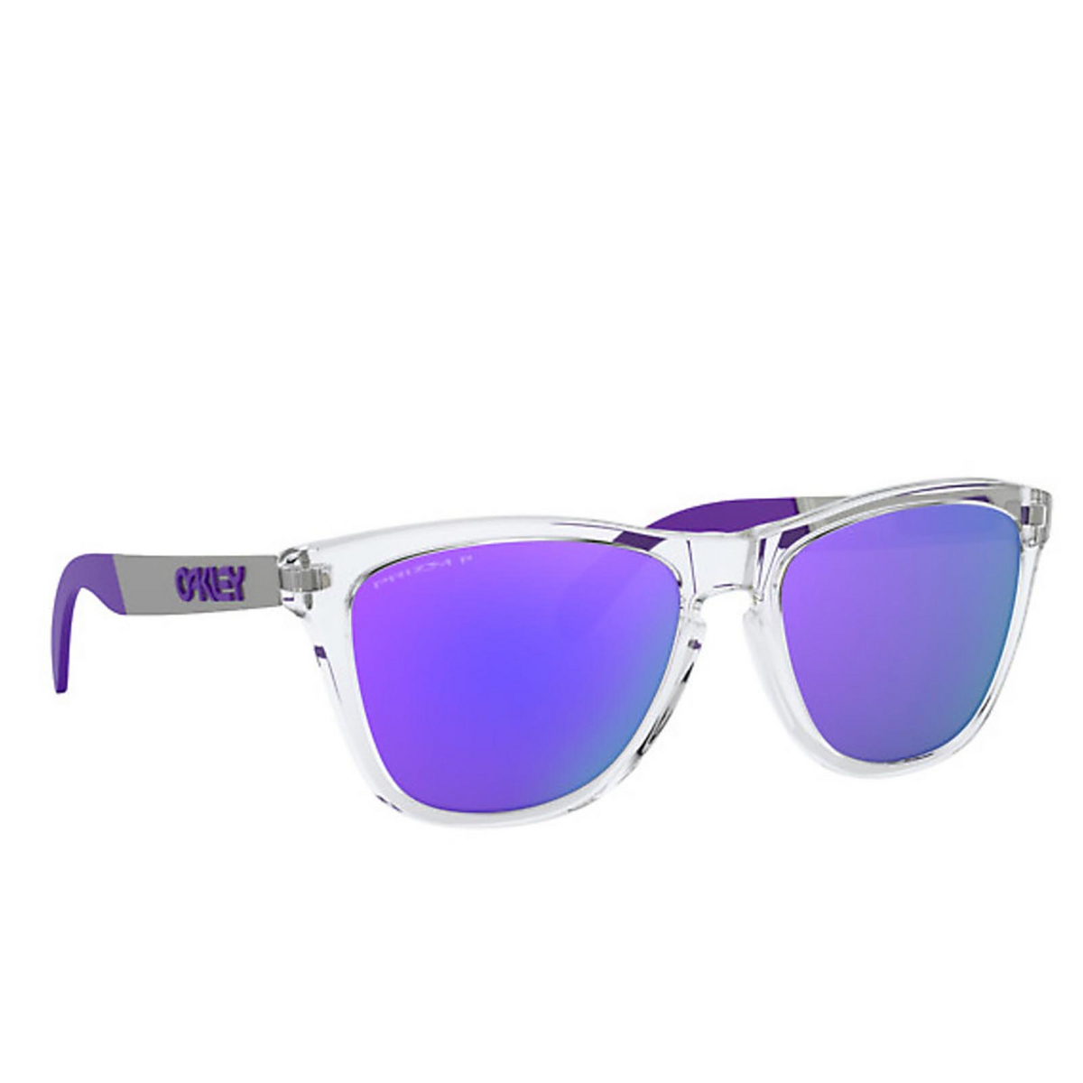 Oakley® Square Sunglasses: Frogskins Mix OO9428 color Polished Clear 942817 - 2/3.