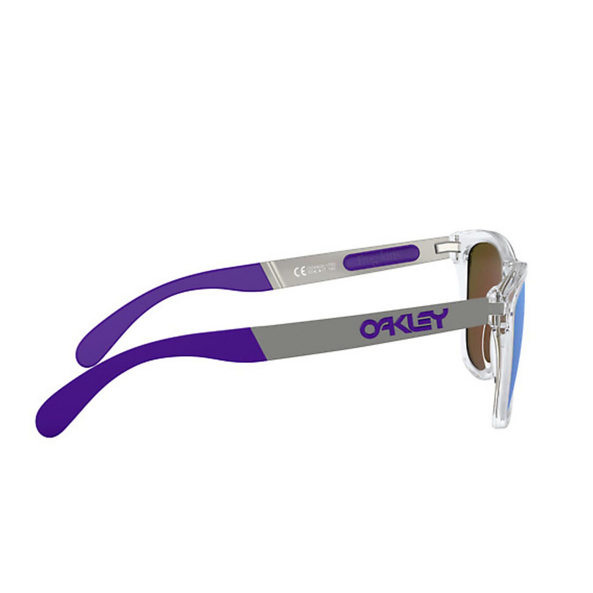 Oakley® Square Sunglasses: Frogskins Mix OO9428 color Polished Clear 942817 - 3/3.