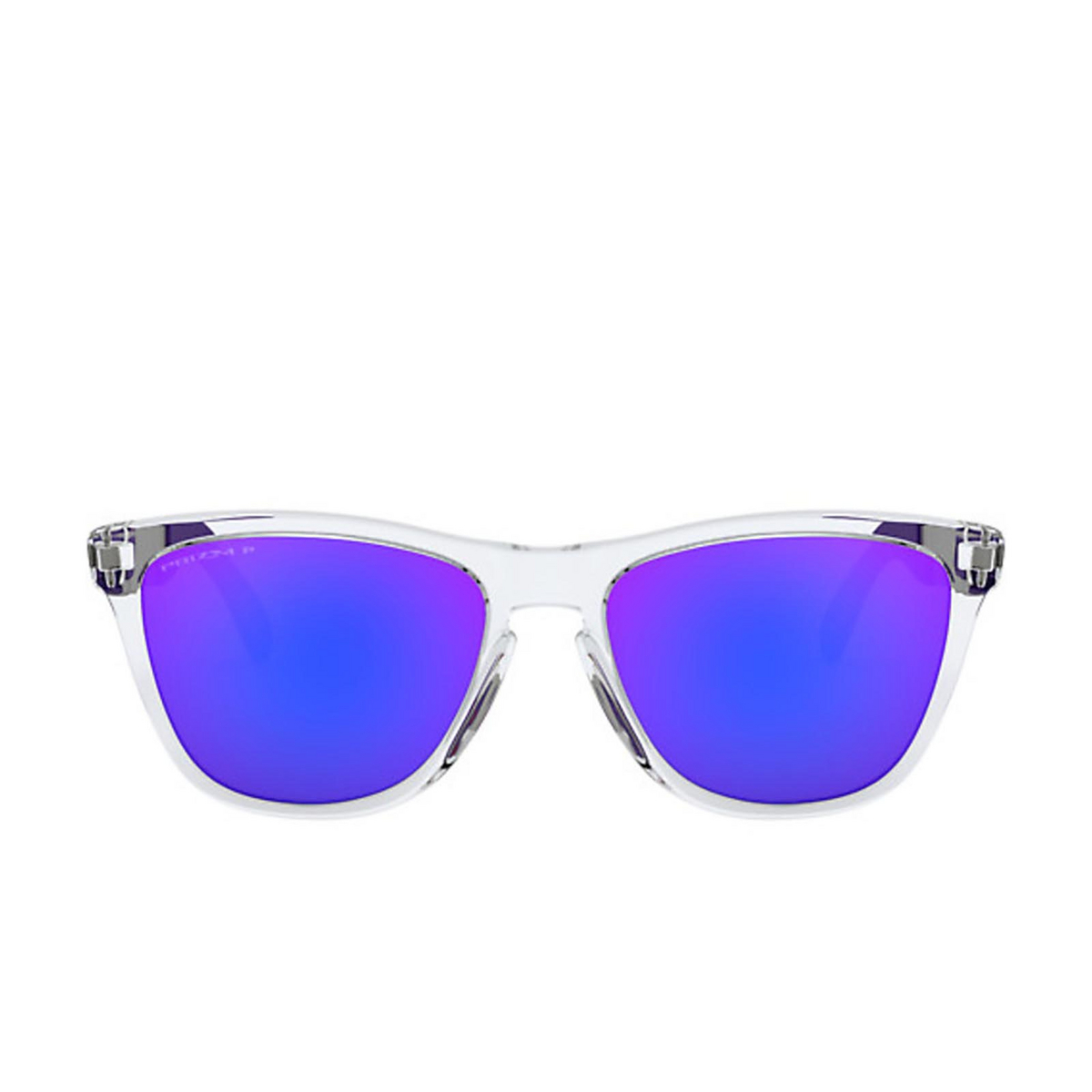 Oakley® Square Sunglasses: Frogskins Mix OO9428 color Polished Clear 942817 - 1/3.