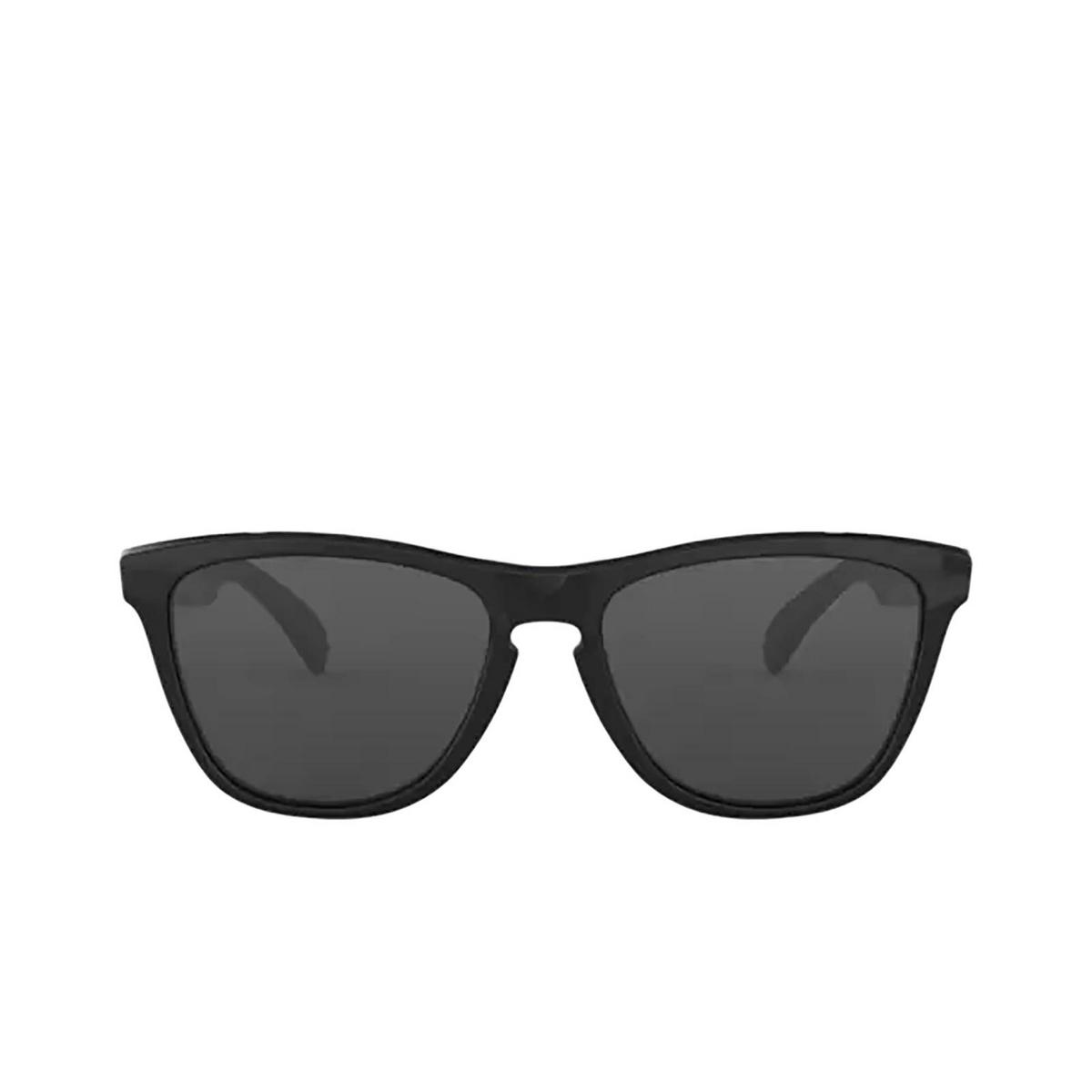 Oakley® Square Sunglasses: Frogskins OO9013 color Polished Black 24-306.