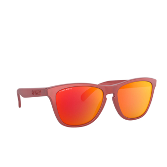 Oakley® Square Sunglasses: Frogskins OO9013 color Ir Red 9013C8.