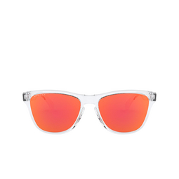 Oakley® Sunglasses: Frogskins Xs OJ9006 color Polished Clear 900619.