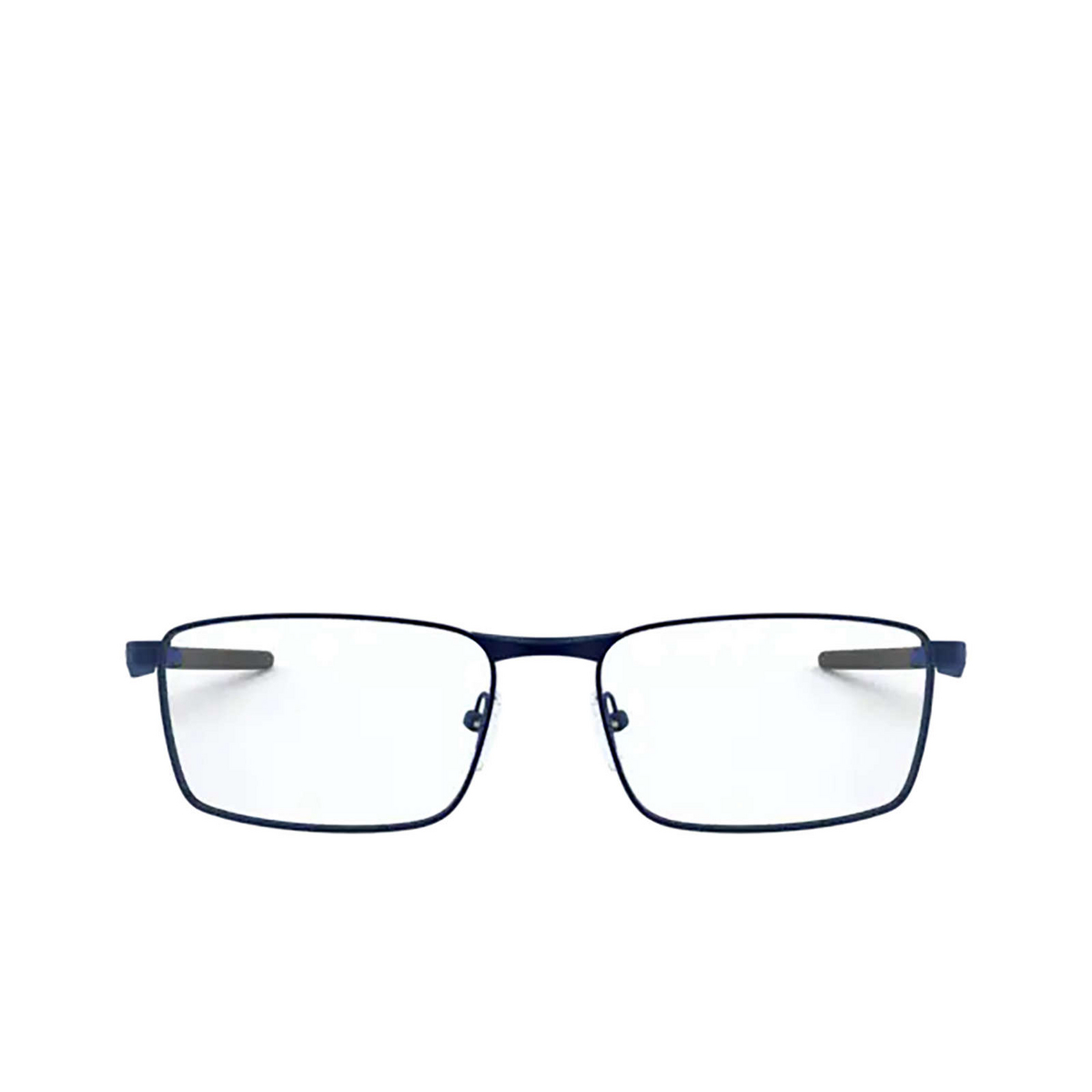 Oakley® Rectangle Eyeglasses: Fuller OX3227 color Matte Midnight 322704 - front view.